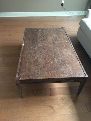 Crate&barrel coffee table for Sale in Boston, MA