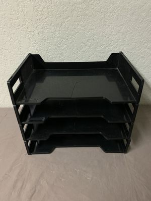 Plastic paper / letter holder tray for Sale in Buena Park, CA