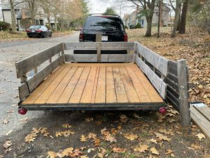 Utility Trailer & Atv Trailer 7ft x 6ft for Sale in Waltham, MA