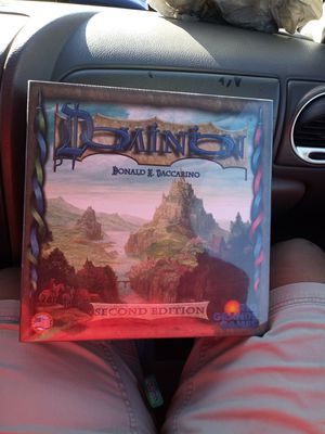 Board Game Dominion Donald and Daccarino the second edition for Sale in Frostproof, FL