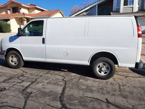 2006 CHEVY EXPRESS CARGO VAN RUNS FANTASTIC V-6 CLEAN TITLE GOOD TAGS for Sale in Victorville, CA