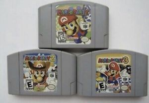 N64 - Nintendo 64 - Mario Party 1-2-3. for Sale in Struthers, OH