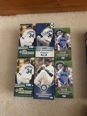 Seattle Mariners Giveaway Bobbleheads '05-'14 Felix Griffey Cano for Sale in Newcastle, WA