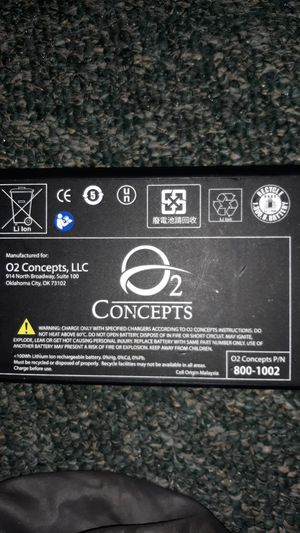 02concepts 14.4v lithium ion battery for Sale in Mount Vernon, WA