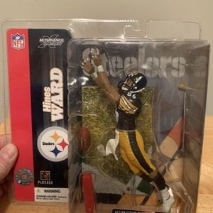 McFarlane Hines Ward Pittsburgh Steelers 7inch Figure for Sale in Plainfield, IL