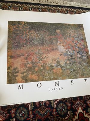 Monet Garden Poster 16x20 Inches for Sale in Mesa, AZ