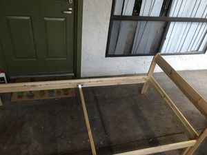 IKEA twin wooden bed frame for Sale in Tempe, AZ