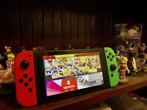 Nintendo Switch + Super Smash Brothers for Sale in Bakersfield, CA