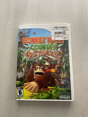 Donkey Kong country returns for wii for Sale in Olympia Heights, FL