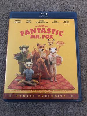 Fantastic Mr. Fox Blu-ray for Sale in Tampa, FL