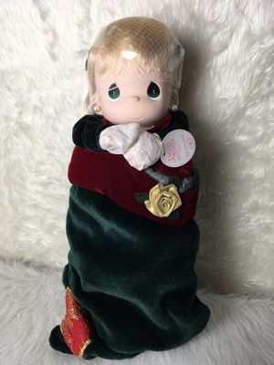 Precious Moments Stocking Porcelain Doll Brand New! for Sale in Aloha, OR