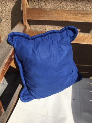 Blue pillow for Sale in Fremont, CA