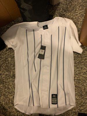 Baseball pinstripe jersey size L for Sale in Auburn, WA