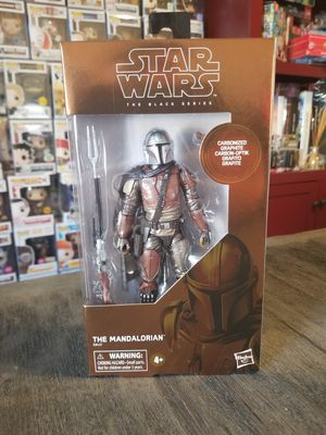 Hasbro Star Wars Black Series Carbonized The Mandalorian for Sale in Fort Worth, TX