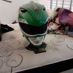 Autographed Green Ranger Collectible Helm for Sale in Portsmouth, VA