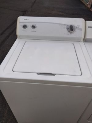 Large-capacity Kenmore washer excellent new condition reliable and ready to use curbside delivery or pickup is for Sale in Pennsauken Township, NJ