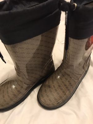 Guess rain boots. Boy or girl worn once excellent condition for Sale in Los Angeles, CA