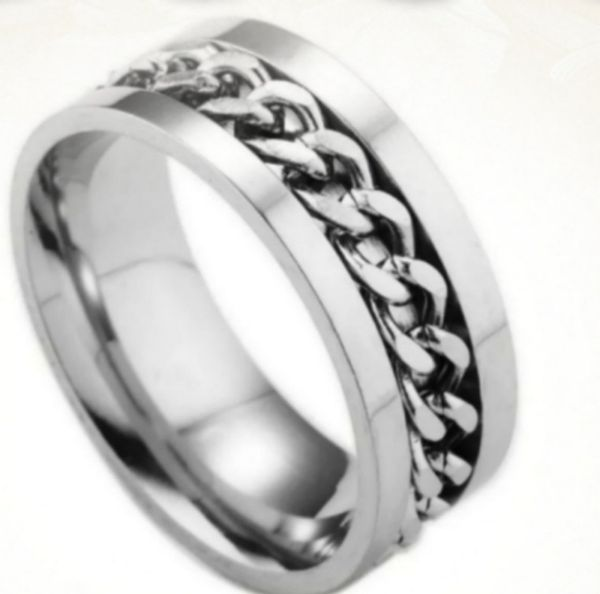 NWT Stainless steel ring Sz 10