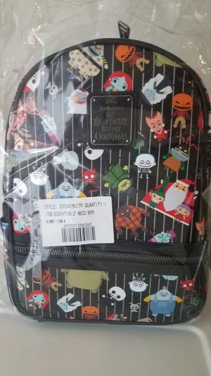 Disney Parks The Nightmare Before Christmas Loungefly Mini Backpack for Sale in Pittsburg, CA