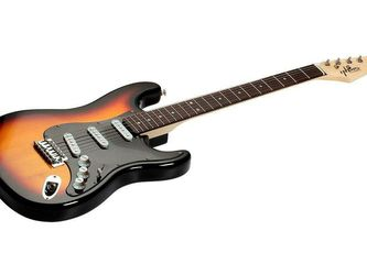 Indio Cali Classic Electric Guitar with Gig Bag, Sunburst for Sale in Bellevue,  WA