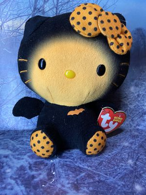 "Rare Sanrio TY Hello kitty Bat 6"" plush toy doll for Sale in Bellflower, CA"