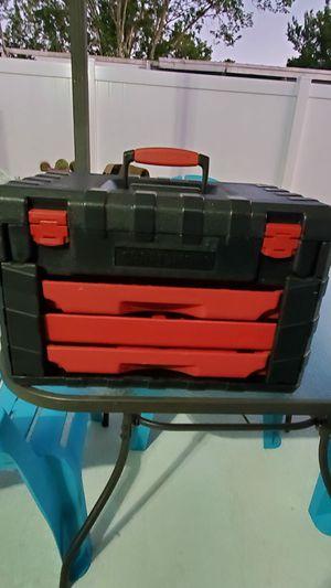 Craftsman plastic tools box for Sale in St. Cloud, FL