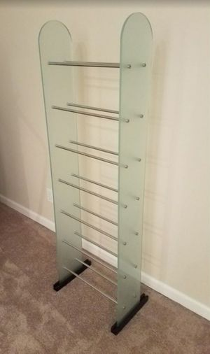 Glass DVD or CD Storage for Sale in Saint Charles, MO