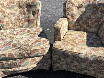 VTG Pair Asian Chinoiserie Style Chairs for Sale in Leesburg,  VA