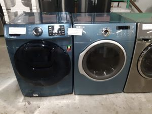 SAMSUNG FRONT LOAD WASHER AND DRYER WORKING PERFECTLY 4 MONTHS WARRANTY DELIVERY AVAILABLE for Sale in Baltimore, MD