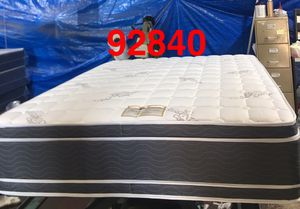 "14"" thick double sided pillow top mattress. Free delivery. Twin Mattress only-$180 Mattress & box spring-$210 Full Mattress only-$245 Mattress & b for Sale in Garden Grove, CA"
