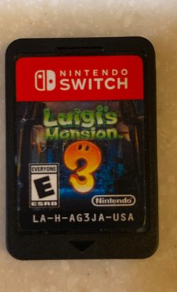Nintendo Switch Luigis Mansion 3 for Sale in San Dimas,  CA