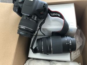 Canon Rebel T6 for Sale in Kennesaw, GA
