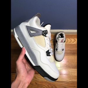 """Air Jordan 4 Retro """"White Cement"""" for Sale in Hasbrouck Heights, NJ"""