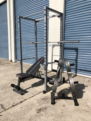 Home Gym cage Set combo for Sale in Oviedo, FL