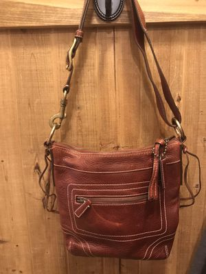 Coach Leather Crossbody for Sale in Wayne, NJ