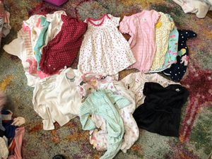Baby girl 22 piece lot 3-6 and 6 month for Sale in Arlington, VA