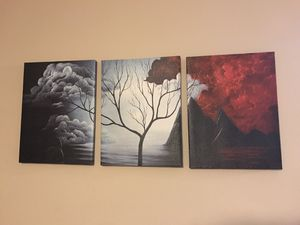 Three-Piece Wall Art for Sale in Germantown, MD