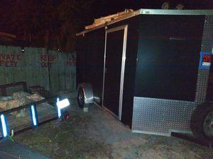 6x12 enclosed trailer clean for Sale in Mount Dora, FL