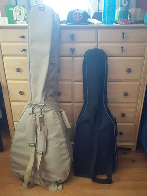 Electric guitar and acoustic/electric bass for Sale in Manchester, CT