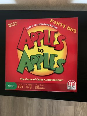 Apple to Apples Board Game for Sale in Washington, DC