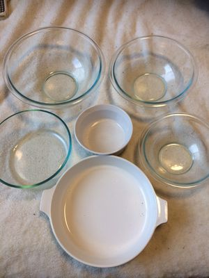 Pyrex bundle: take all for $10 for Sale in Tacoma, WA