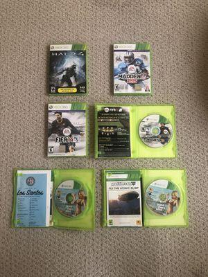 6 Xbox 360 Video Games Lot for Sale in Centreville, VA