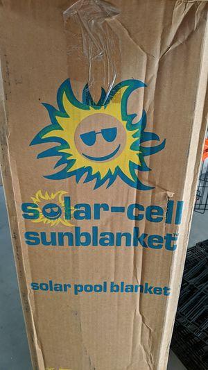 Solar-cell sunblanket, hottub for Sale in Chandler, AZ