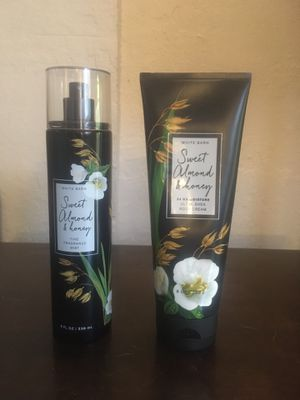 Bath & Body works Sweet Almond & Honey set rare! Read for Sale in Waterford, CA