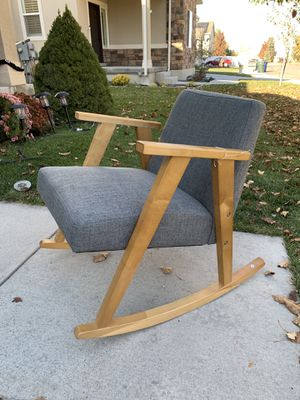 Brand new mid century rocking chair for Sale in West Valley City, UT