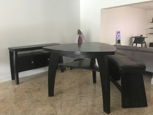 Dining Table, Bench, and Bar Table for Sale in Miami, FL
