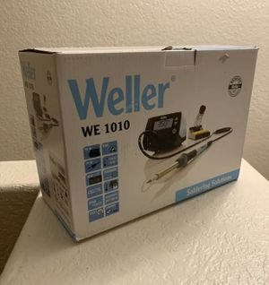 Weller WE1010NA 1-Channel Soldering Station with Soldering Iron & Safety Rest for Sale in Hialeah, FL