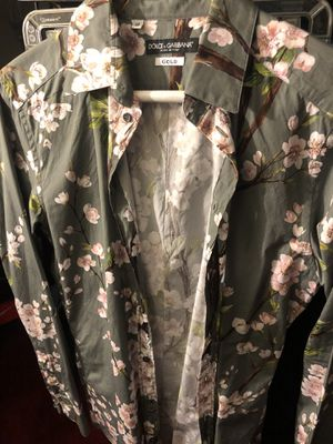 Men's small dolce and gabana button up shirt for Sale in Washington, DC