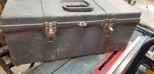 Heavy plastic tool box for Sale in Toms River, NJ