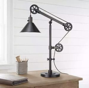Industrial Pulley Lamp - Brand New in Box for Sale in Laguna Beach, CA